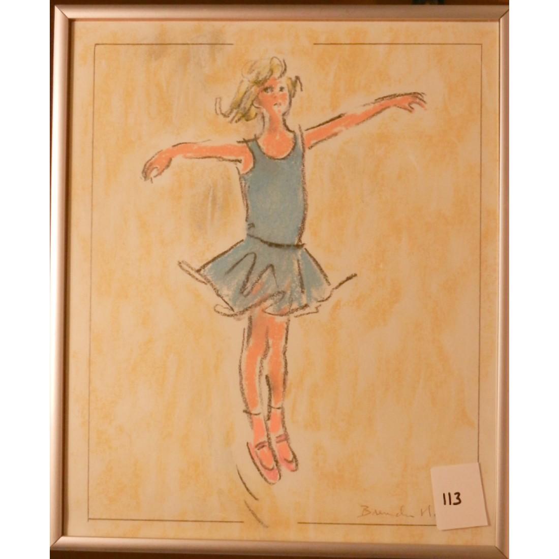 113 Young Dancer (Vacani school?)